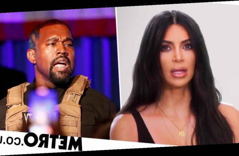 Kim Kardashian has tearful reunion with Kanye West in Wyoming