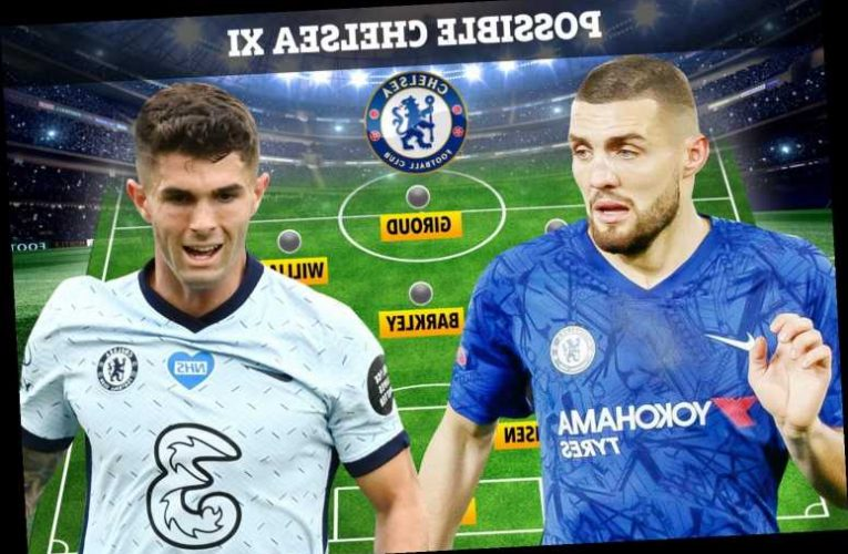 How Chelsea will line-up at Sheffield United with Mateo Kovacic to replace injured Billy Gilmour in midfield