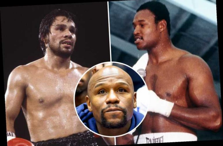 Floyd Mayweather names his boxing 'Mount Rushmore' and snubs Muhammad Ali but included HIMSELF on list