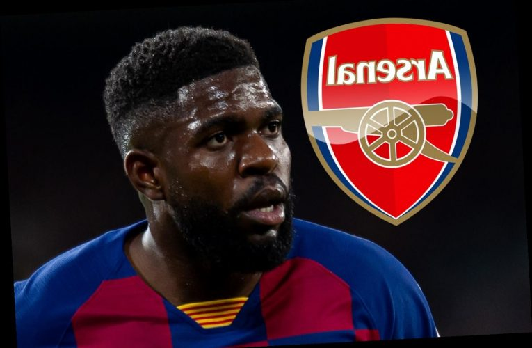 Arsenal transfer boost with Barcelona 'happy to allow defender Samuel Umtiti to leave on loan next season'