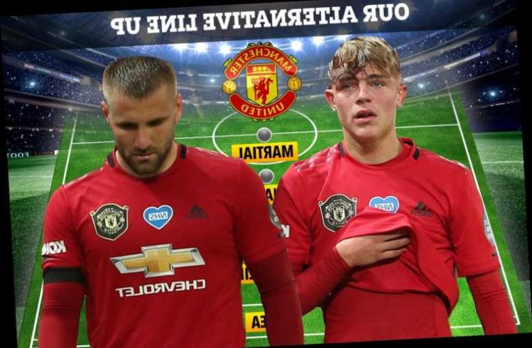 How Man Utd could line-up against Crystal Palace with Luke Shaw and Brandon Williams giving Solskjaer injury dilemma