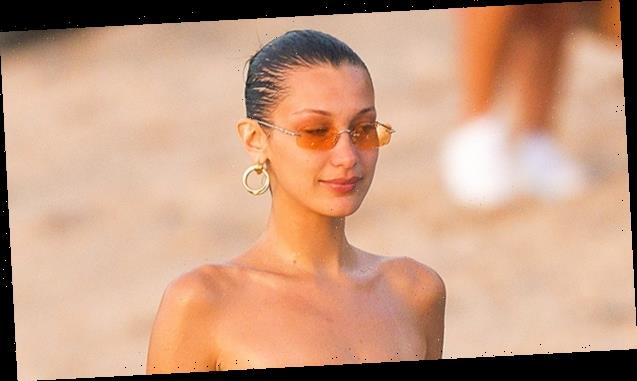 Bella Hadid Celebrates Summer In A Tiny Bikini & 4 More Of Her & Sister Gigi's Bikini Snaps — Pics
