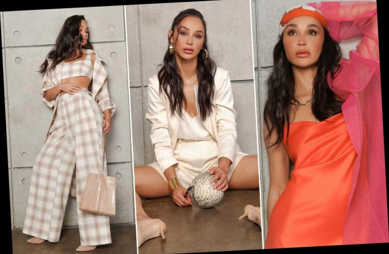 Cara Santana shows us how she styles her new fashion collection