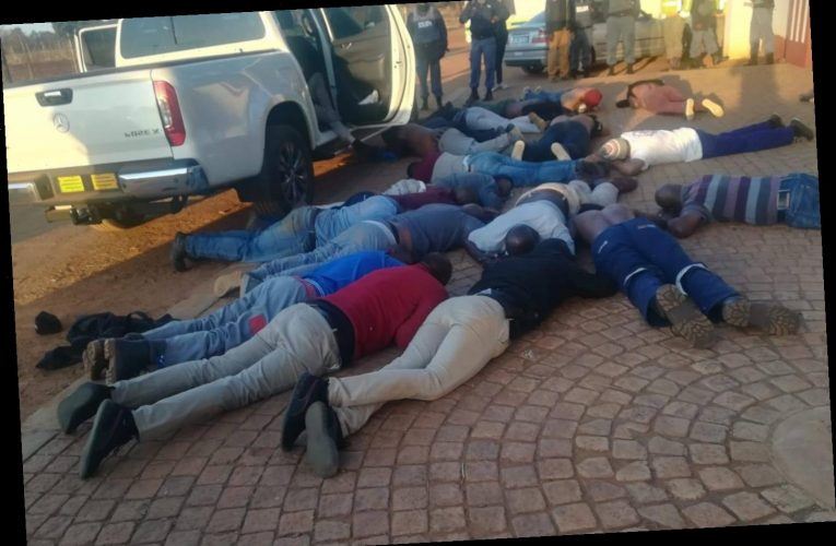 Five shot dead as 30 gunmen storm South African church and take hostages