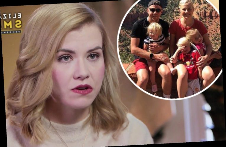 Kidnap survivor Elizabeth Smart reveals she 'panics' if her kids wander out of her sight at home