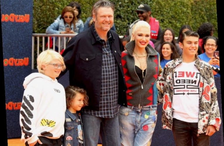 Blake Shelton Says It Was 'Scary' Starting To Parent Gwen Stefani's Kids