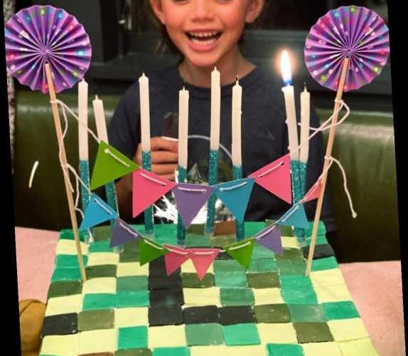 Busy Philipps Makes Daughter Cricket a Minecraft Cake for Her Birthday: 'The Unicorn Is 7'