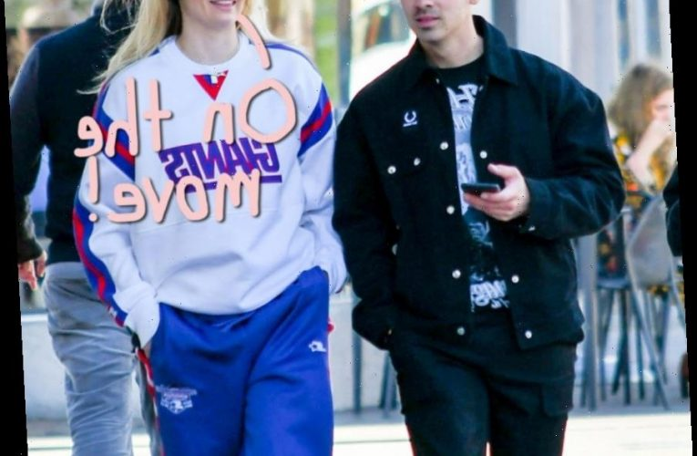 Sophie Turner Shows Off Bigger Baby Bump On Another Summertime Stroll With Husband Joe Jonas!