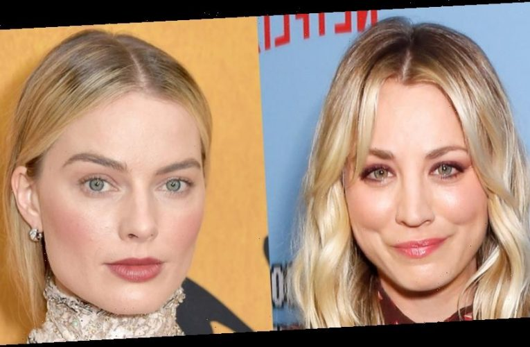 Kaley Cuoco Responds to Rumors That She's Feuding with Margot Robbie