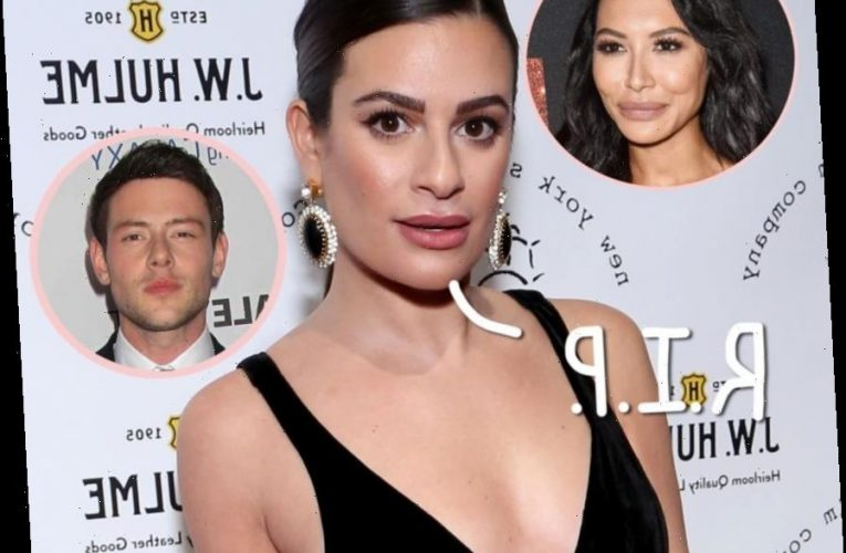 Lea Michele Remembers Cory Monteith & Naya Rivera With Heartbreaking Photo Tribute As More Castmates Spea
