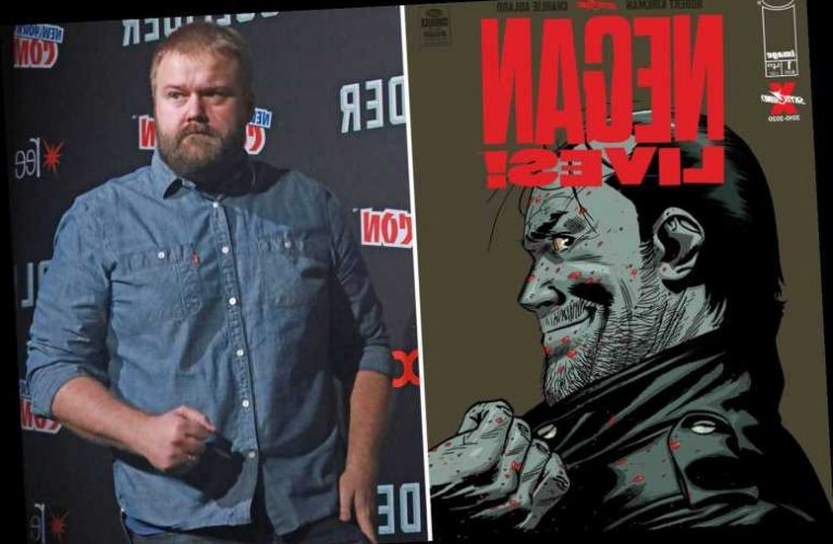 The Walking Dead creator revives axed comic series with new Negan spin-off adventure