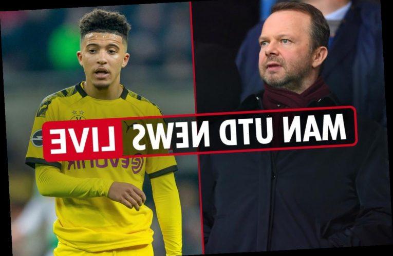 7am Man Utd news LIVE: Jadon Sancho 'agrees five-year deal', Pogba 'buzzing' to play with him, Lindelof doubt vs Villa – The Sun