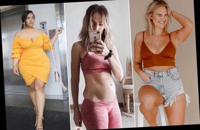 Curvy influencers say TikTok banned their body-centric videos