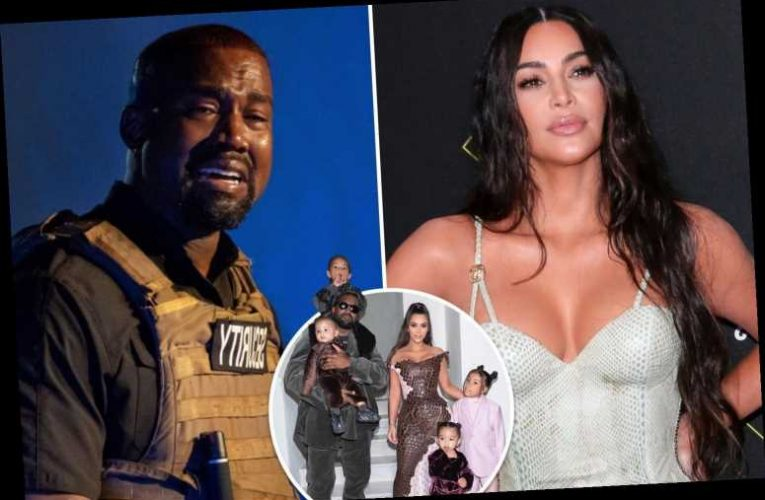 Kim Kardashian 'embarrassed' & 'torn up inside' after Kanye West's claim they wanted to abort daughter in bizarre rally