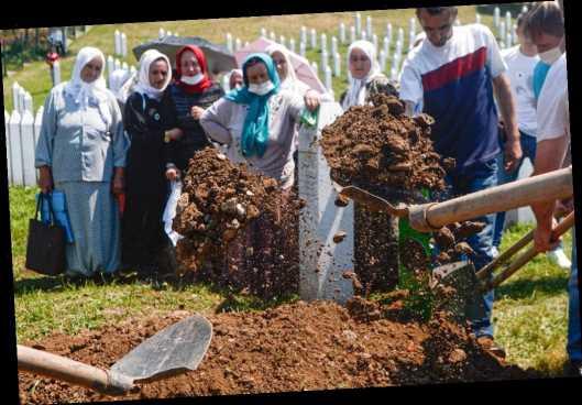 Survivors, world leaders, mark 25th anniversary of Srebrenica massacre