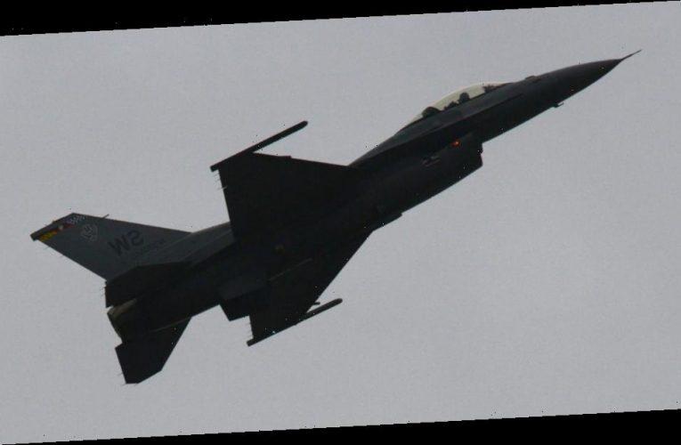 US Air Force F-16 at New Mexico base, pilot injured
