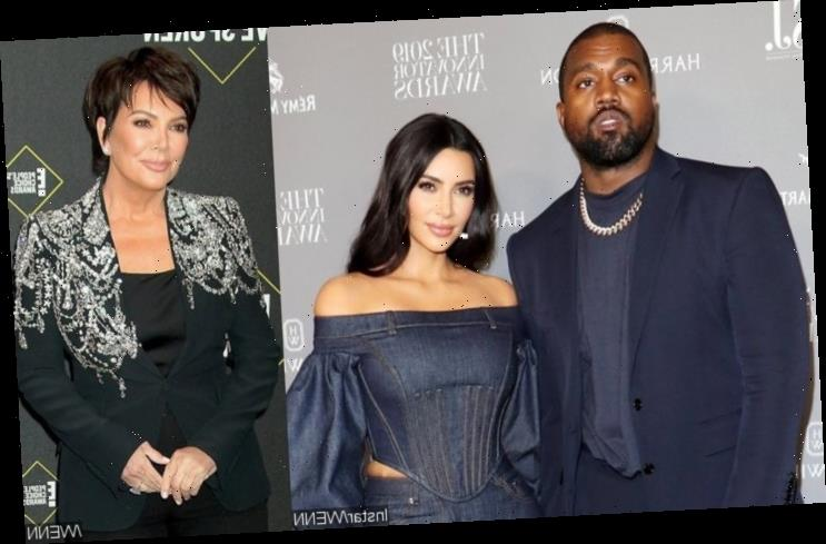 Kanye West Says Kim and Kris Tried to Lock Him Up with a Doctor in Twitter Rant