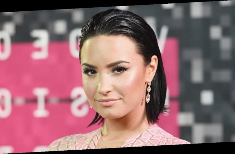 Demi Lovato Says She's 'Fighting' for Trans Rights at GLAAD Awards
