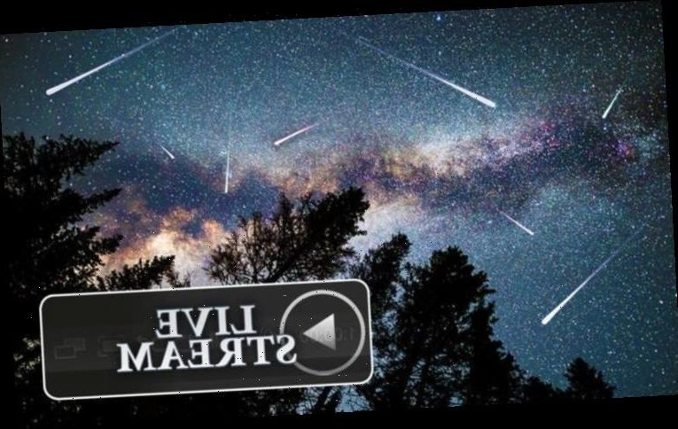 Meteor shower LIVE stream: How to watch the Perseids meteor shower TONIGHT