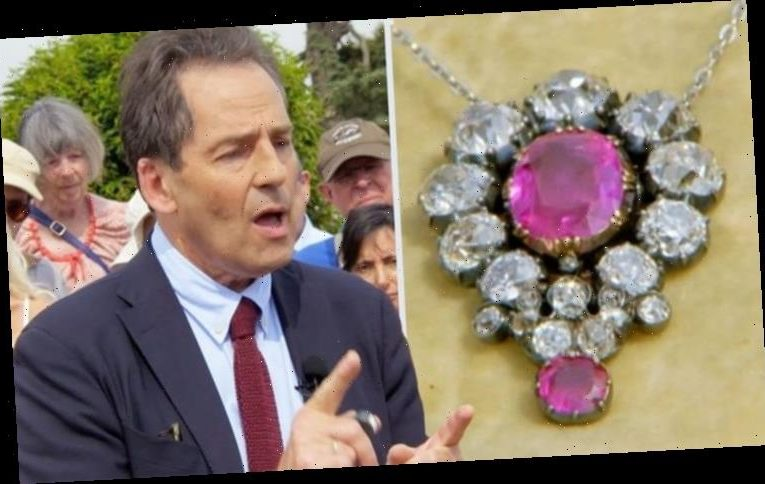Antiques Roadshow guest speechless at valuation as family necklace found to be rare ruby