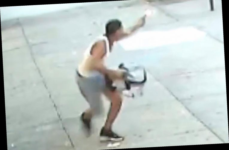 Gunman injures four after opening fire in the Bronx, shocking video shows