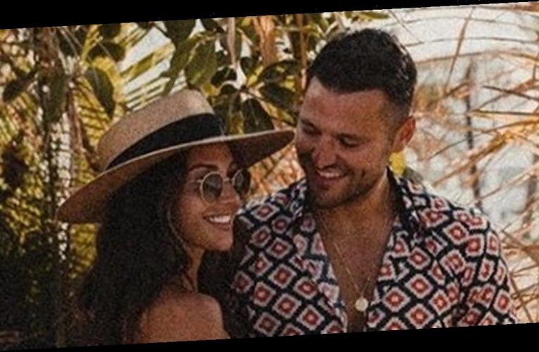 Michelle Keegan dons teeny crop top as she puts on loved-up Mark Wright display