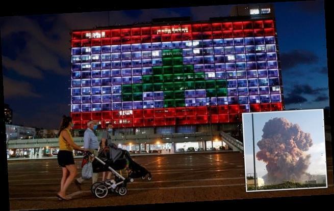 Lebanese give hostile reaction to Tel Aviv solidarity gesture