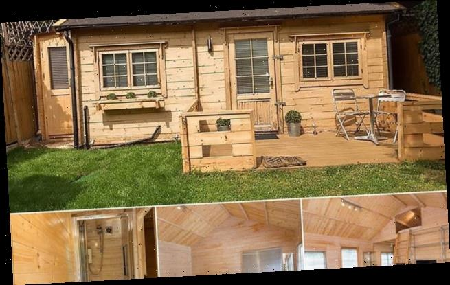 Are you CABIN a laugh? Garden shed in London rented for £1,500 a month