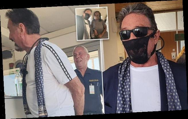 John McAfee 'arrested' in Norway for wearing lacy thong as a mask