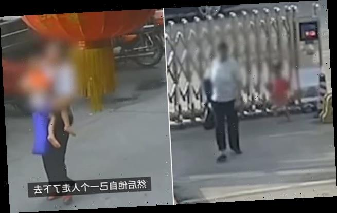 Boy is abducted by a woman before he being rescued by police in China