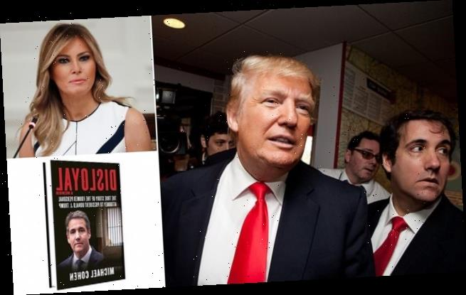 Trump compared to mob boss and branded sex cheat in book by lawyer
