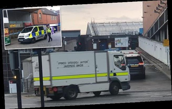 Derby shopping centre closed as 'suspicious package' is investigated