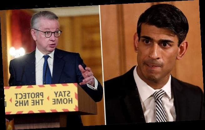 Michael Gove and Rishi Sunak fight to see who will be Boris' heir