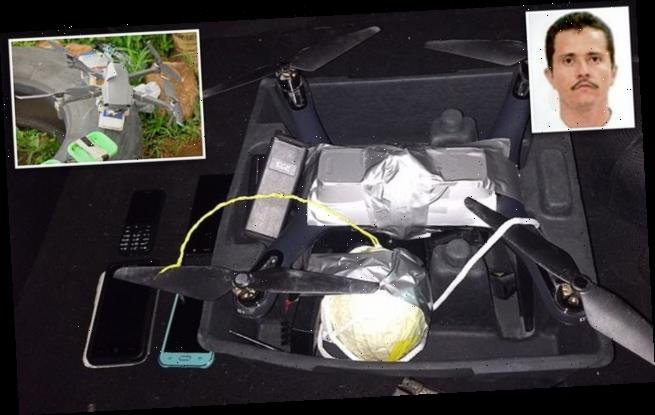 Mexican drug cartel is using BOMB-equipped drones