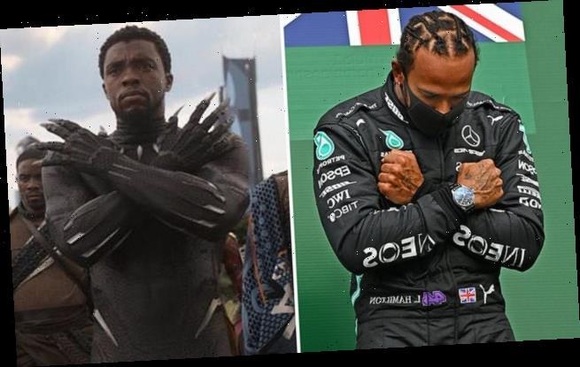 Lewis Hamilton dedicates Belgian GP win to Chadwick Boseman