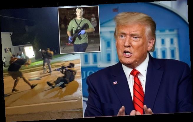 Donald Trump DEFENDS accused double murderer Kyle Rittenhouse