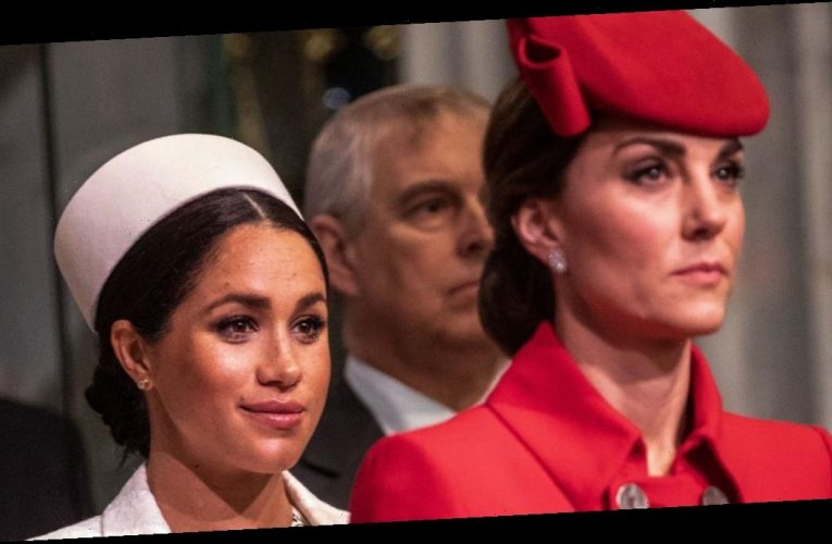 Meghan Markle 'gave Kate Middleton a notebook' to 'break the ice' when they met for the first time
