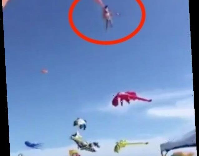 Kite Yanks 3-Year-Old Girl 30 Feet Into The Air In Festival Nightmare