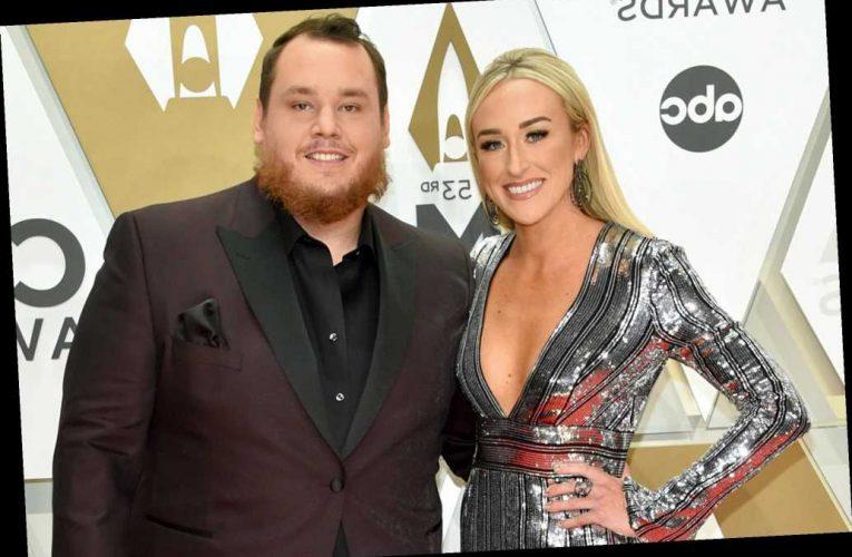 Country singer Luke Combs marries fiancée Nicole Hocking in Florida