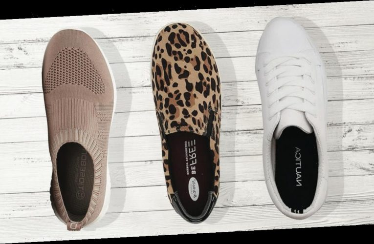 These Chic Sneakers Go With Absolutely *Everything* In Your Closet
