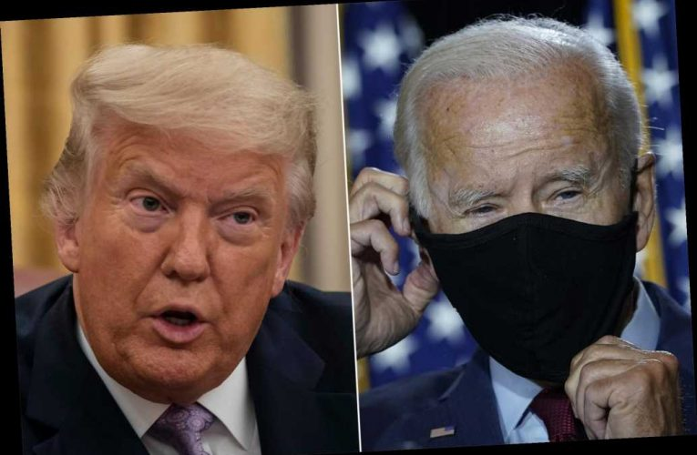 Trump needles Biden over lack of questioning from the press