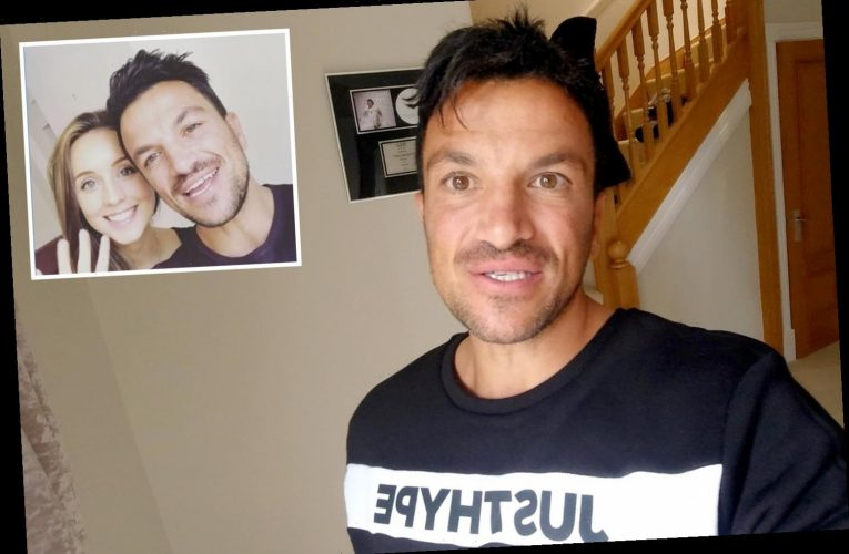 Peter Andre reveals he feared stalker was going to kill him after she sent him gun snaps
