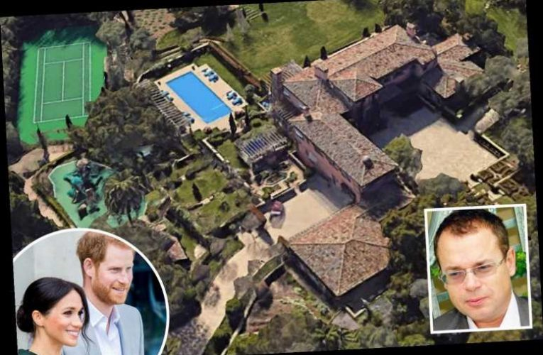 Prince Harry and Meghan bought new £11m California mansion from Russian 'Scarface' oligarch