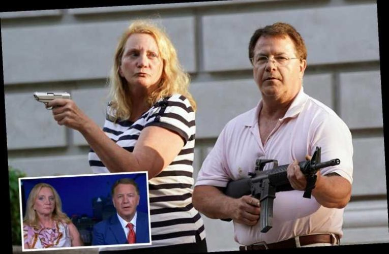 Gun-toting St Louis couple who pointed weapons at BLM protesters to speak in support of Trump at RNC – The Sun
