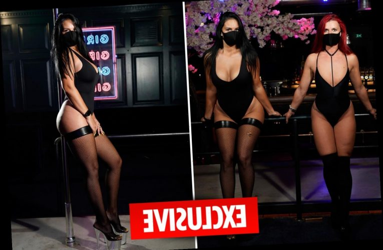 Lapdancers vow to wear visors and masks if they are allowed to reopen