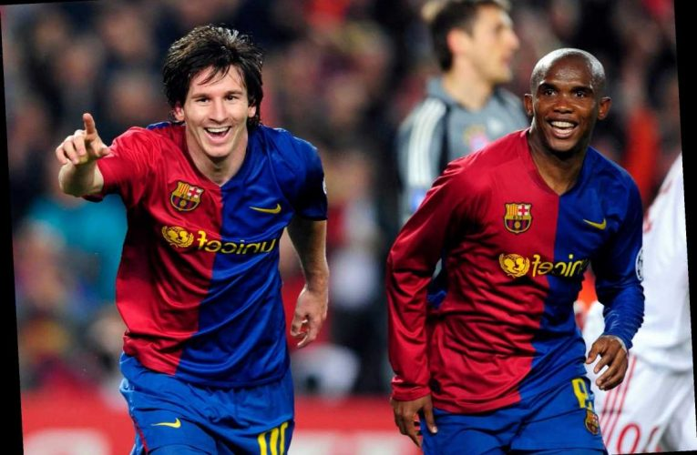 If Lionel Messi leaves Barcelona then club needs to change its NAME, claims Eto'o amid fear over superstar's exit