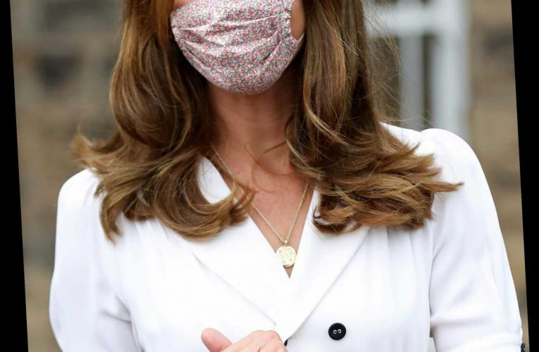 Where to buy Kate Middleton's £15 ditsy print face mask – and the best floral print dupes too