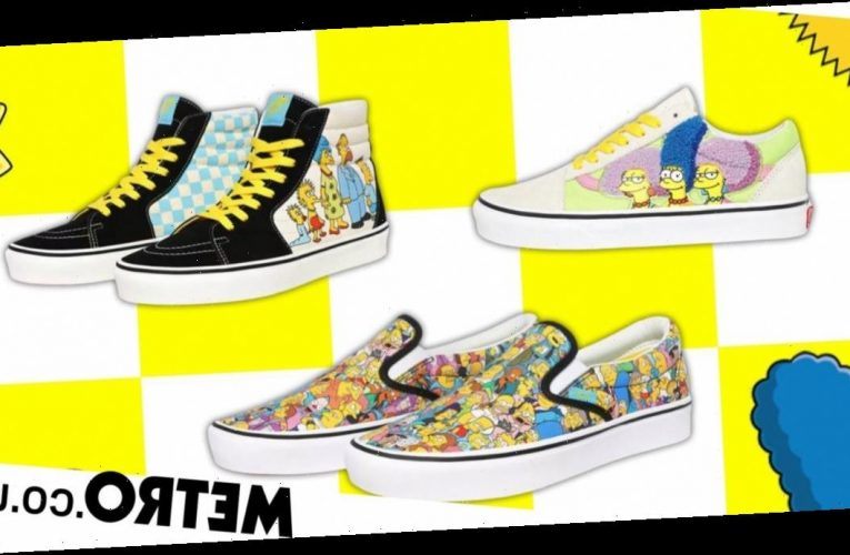 Vans teams up with The Simpsons for limited edition collection