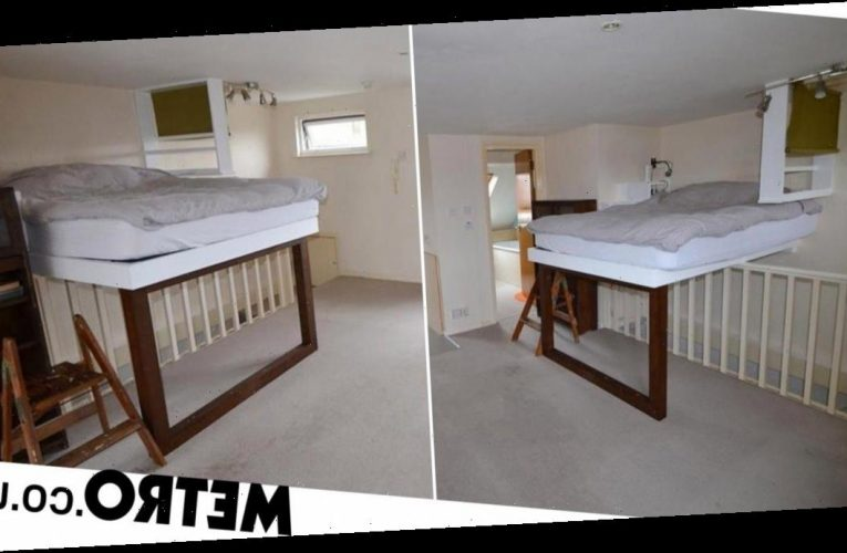 £125k studio flat with bed hovering over stairs baffles house-hunters