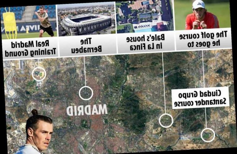 Inside Gareth Bale's multimillionaire lifestyle in Madrid, featuring £6.5m home, £230,000 Ferrari and golf on doorstep